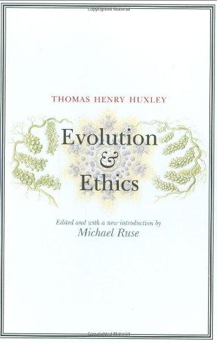 Evolution and Ethics