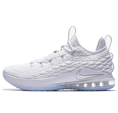 outlet footlocker pictures discount new styles NIKE Men's Lebron XV Low Shoe White/Metallic Silver footlocker for sale NYRw2mptvI