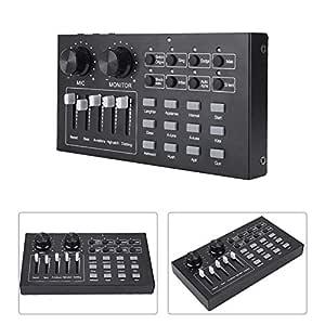 Tarjeta de Sonido de Audio Externo, Mezclador de Cambiador de Voz ...