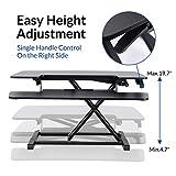 FLEXISPOT Standing Desk Converter - 35 Inch