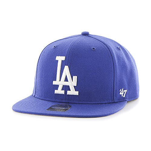 - '47 MLB Los Angeles Dodgers Sure Shot Captain Wool Adjustable Hat, One Size, Royal