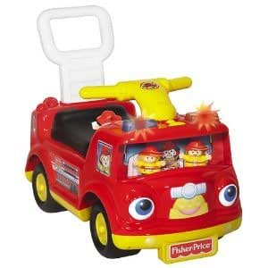 fisher price fire truck ride on toys games. Black Bedroom Furniture Sets. Home Design Ideas