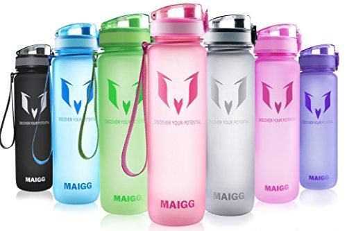 MAIGG Best Sports Water Bottle - 32oz - Eco Friendly & BPA-Free...