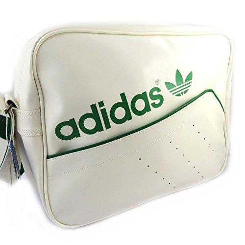 Shoulder bag 'Adidas' white green.