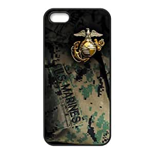 Customize High Quality US Marine Corp Back Cover Case for iphone 5 5S