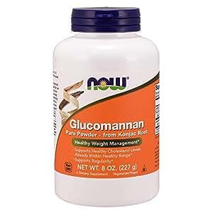 NOW Glucomannan Pure Powder, 8 Ounce