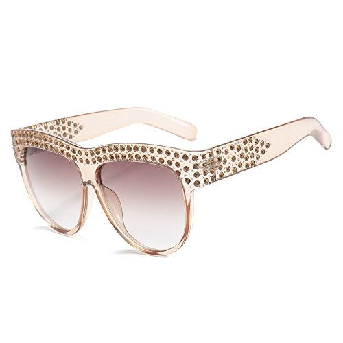 B Gafas Un TIANLIANG04 De Sobredimensionado400 Sol Mujer Uv wqax06Sa