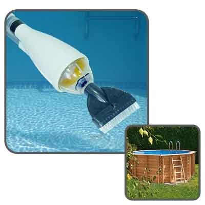 Linxor Swimming Pool Cleaner Vacuum With Telescopic Handle
