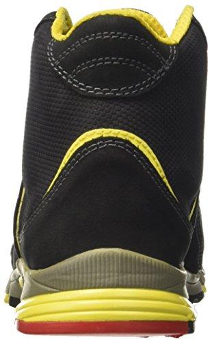 Trabajo S3 de Zapatos High Diadora Unisex Pressing Nero Negro Hro Adulto fqABHY