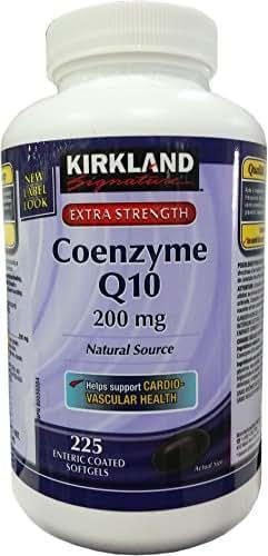 Kirkland Signature™ Coenzyme Q10 Natural Source 200 Mg, 225 Softgels