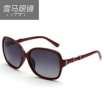 ed6d467b28 BM Polarized sunglasses, women's big frame, 2016 new authentic women,  European and American