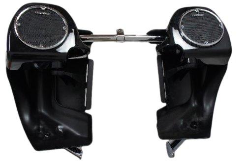 Mutazu 283900027 Vivid Black Harley 5.25