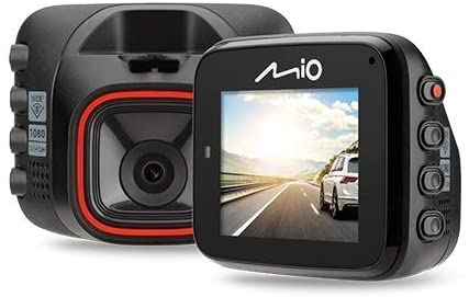 Record in Low-Light Conditions Mio MiVue C312 Mounted Mini Car Security Dash Camera with 2M Sensor 1080p Full HD Recording Auto Power On Plus G-Sensor for Emergency Backup 130/° Wide-Angle Lens