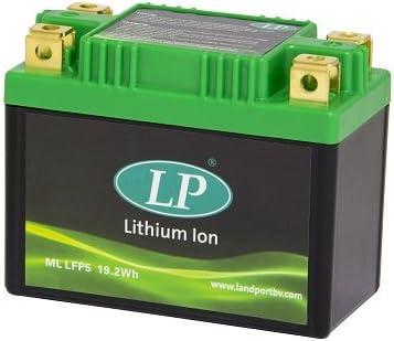 Accossato ML LFP5-1267 Batteria al Litio per Yamaha XJ 550 550