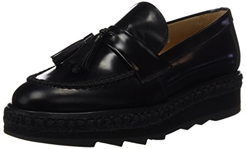 Castañer Ladies Duna Mocassino Nero