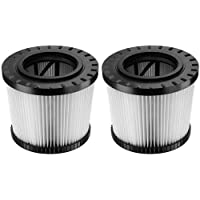 DEWALT Conversion Kit for DWV9320 Replacement HEPA Filter for DWV012, 2-Pack