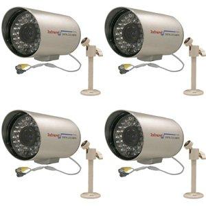 CIB CUC8757-4 Four 480TVL Outdoor Long Range CCD Bullet IR Security Camera So…, Best Gadgets