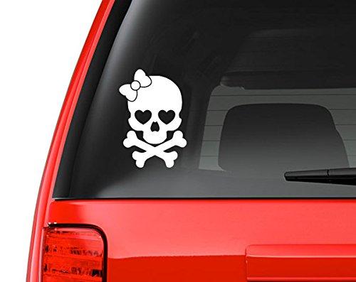 Girly Skull Crossbones Design Automotive product image