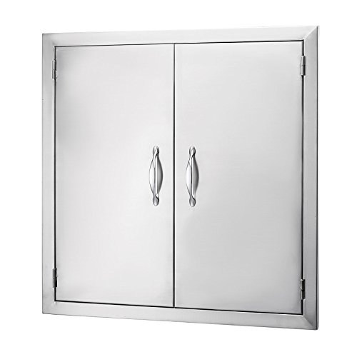 Happybuy BBQ Access Door Double Wall Construction 24W x 24H