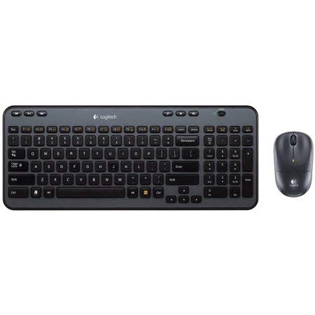 Logitech Wireless Combo MK360 - Includes Keyboard with 12 Programmable Keys and Wireless Mouse, Compact Package, 3-Year Battery Life ()
