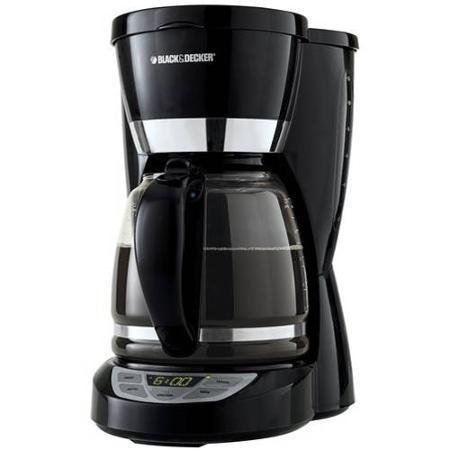 Black + Decker 12-Cup Programmable Coffee Maker - 2 Hourr Shut Off