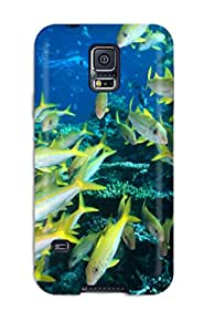 Discount Hot Tpu Cover Case For Galaxy/ S5 Case Cover Skin - Sea Animals