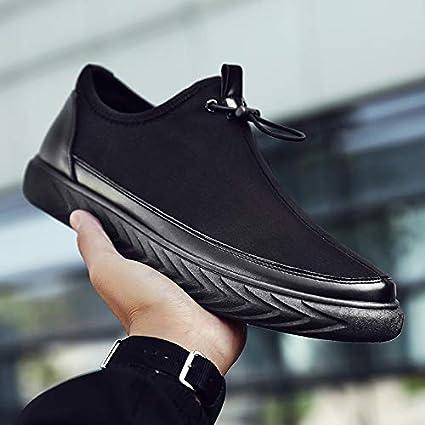 4cffac2b6cecc Amazon.com: NANXIEHO Trend Men's Shoeslazymen Canvas Shoes Men ...