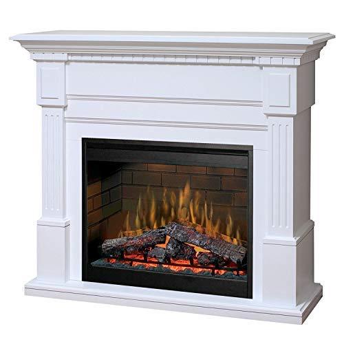 DIMPLEX Essex - Mantel (White Dimplex Electric Fireplaces)