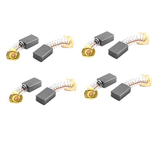 Price comparison product image uxcell 8 Pcs Carbon Electric Motor Brushes 15mm x 10mm x 6mm For Bosch Drill