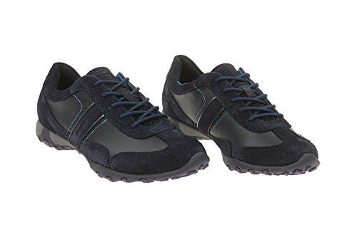 D Appartements Bleu Chaussures Freccia Baskets Lacées Des D54c0a Sport Femmes De Chaussures Geox Femmes De Sportifs wBUtZ