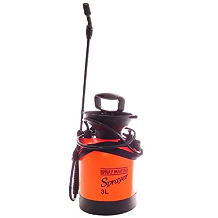 Agricom Plastic Garden Hand Sprayer 3Ltr (18 cms x 37 cms, Orange)