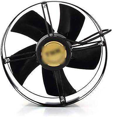 Extractor de aire Ventiladores de baño Rotor Exterior Redondo 12 Pulgadas de Alta Velocidad Ventilador de ventilación Tubo de Cocina Ventilador de Grado Industrial 300 mm: Amazon.es: Hogar