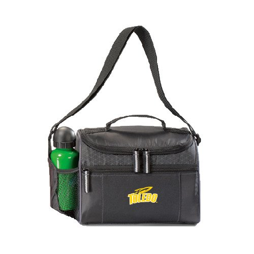 Toledo Edge Black Cooler 'Official Logo' by CollegeFanGear