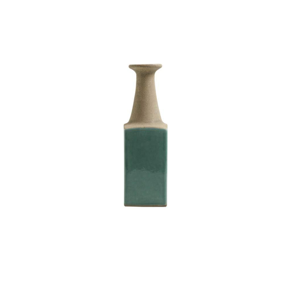 ヴィンテージセラミック花瓶アメリカの国の家の居間の花の花瓶 (Edition : B) B07SSBWLFK  B