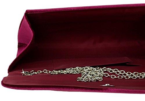 Granate mano para Material Sinttico de Cartera mujer Handbags de Girly Twxtzqa0
