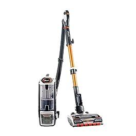 Shark Upright Vacuum Cleaner [NZ801UK] Powered Lift-Away with Anti Hair Wrap Technology, White & Orange