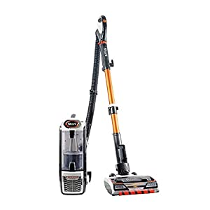 Shark Upright Vacuum Cleaner [NZ801UK] Powered Lift-Away with Anti Hair Wrap Technology, White & Orange