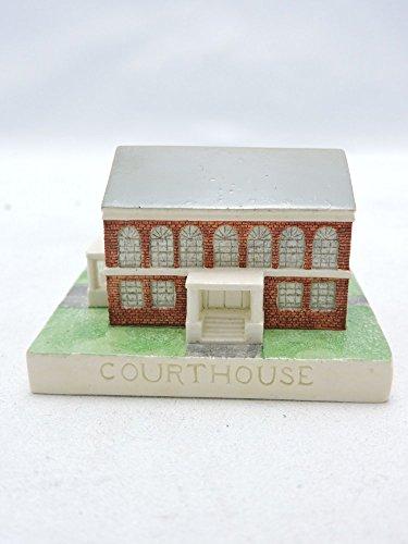 Sebastian Miniatures Figurine # 3720 Courthouse