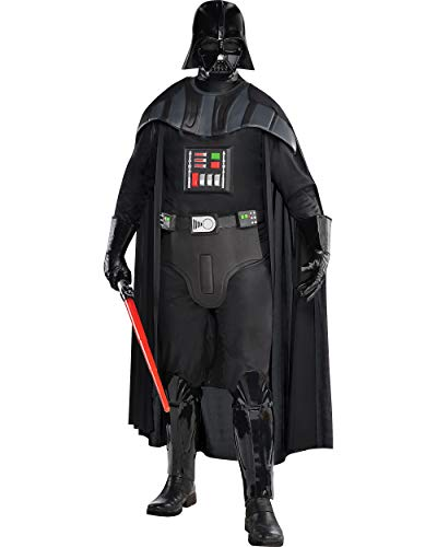 Costumes USA Star Wars Darth Vader Costume Deluxe for Adults, Standard Size, Includes a Suit, a Cape, a Mask, and More]()
