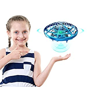 DEERC Drone for Kids Toys Hand Operated Mini Drone – Flying Ball Toy Gifts for Boys and Girls Motion Sensor Helicopter Outdoor and Indoor