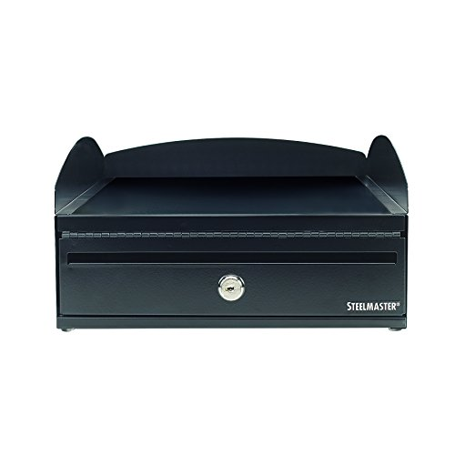 STEELMASTER LockIt Desktop Inbox, 14.5 x 5.75 x 11 Inches, 2 Keys Included, Black (264657004) ()