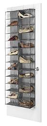 Whitmor  26-Section Over The Door Shoe Shelves