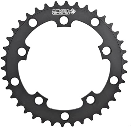 Origin-8 BMX//SS//FIXIE Chainrings Chainring 10h Or8 40t 110//130 Blk 3//32