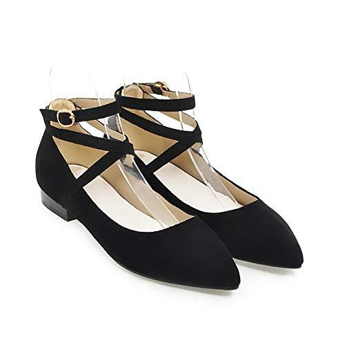 Femme 36 Sandales Noir Compensées BalaMasa Noir 5 APL10685 Cqtx7