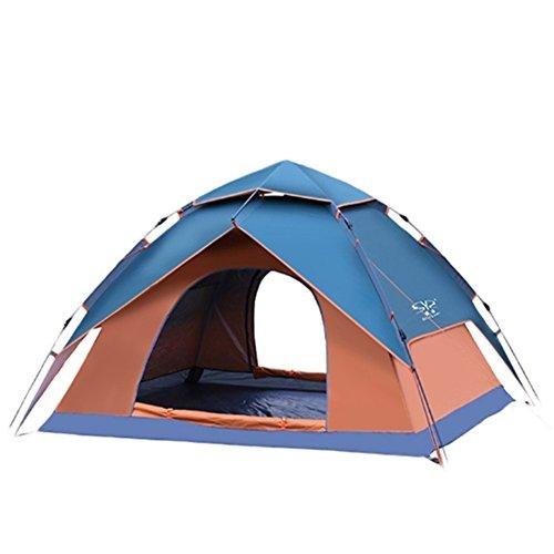 存在する勤勉オフェンスSAYEY テント 二人用 二層構造 外層は天幕シェードとして使用でき 防雨?防風?虫類防止 設営簡単 紫外線カット 高通気性 アウトドア/キャンプ/ビーチ/登山/遠足/ピクニック時など