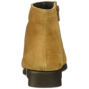 Aerosoles Women's Double Trouble 2 Ankle Bootie, Tan Suede, 8.5 M US