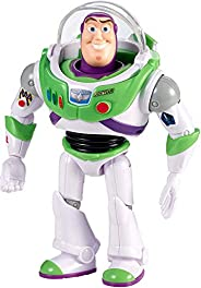 Disney Pixar Toy Story 4 Buzz Lightyear Figure in Space Suit with Helmet, Movie-inspired Scale, Highly Posable