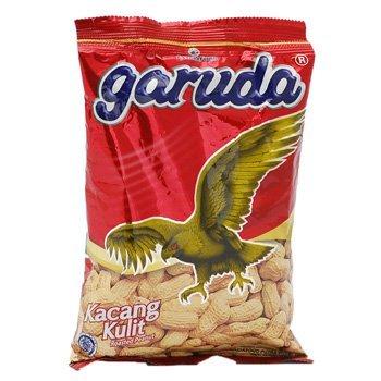 Garuda Kacang Kulit - Roasted Peanuts Original Flavor, 2.64 Oz (Pack of 24) by Garuda Food