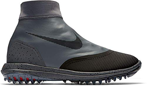 Nike Men's Lunar VaporStorm Spikeless Golf Shoes (Regular) (8 D(M), Dark Gray/Black Gym Red/Rush Pink) (Nike Shoes Lunar Men)