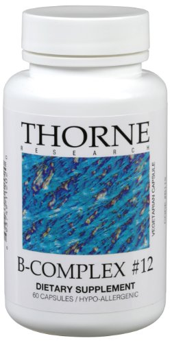 Thorne Research - B-Complex N ° 12 60 VegiCaps [Santé et beauté]